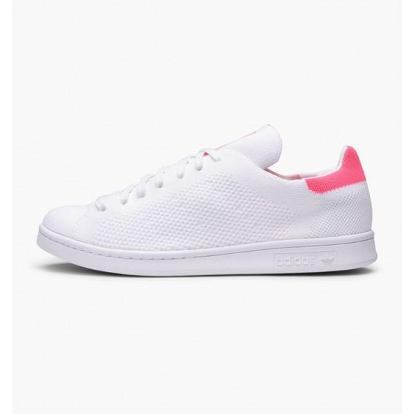Adidas Men Originals Stan Smith Primeknit White Sh...