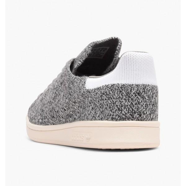 Adidas Men Originals Stan Smith Primeknit Wool Grey White Shoes S80069