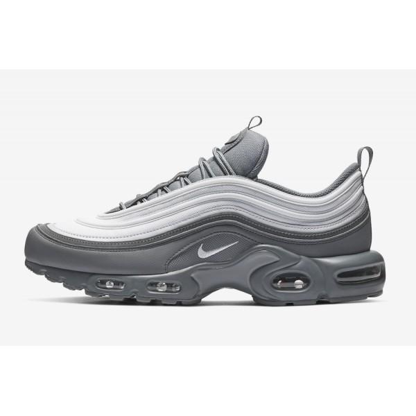 CD7859-002 Nike Air Max Plus 97 Cool Grey Pure Platinum Men Shoes
