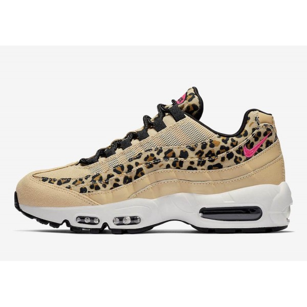 CD0180-200 Nike Air Max 95 Leopard Print Black Women Shoes