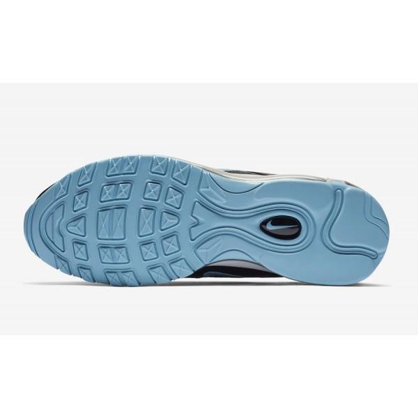 BV1256-001 Nike Air Max 97 Black White Blue Gale Men Shoes