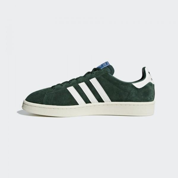 Adidas Men Originals Campus Suede Sneakers Green B...