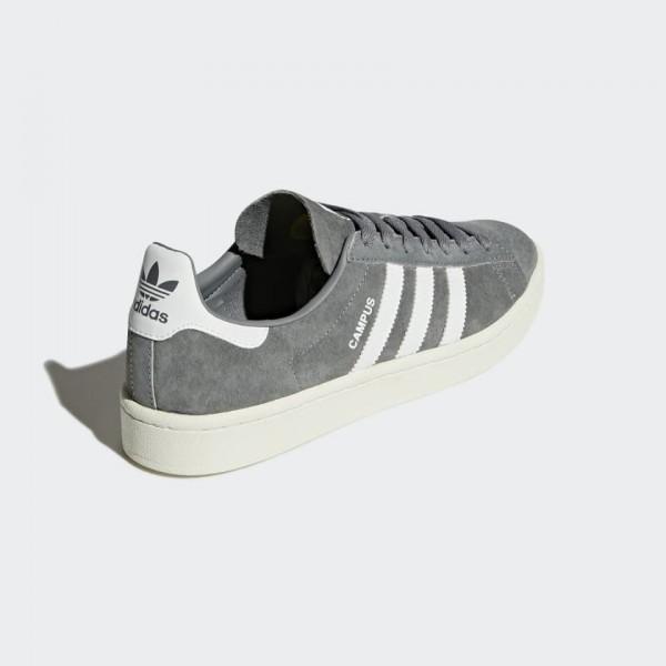 Adidas Men Originals Campus Trainers Grey White BZ0085