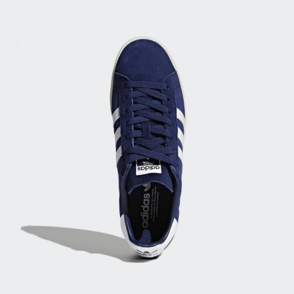 Adidas Men Originals Campus Shoes Blue White BZ0086