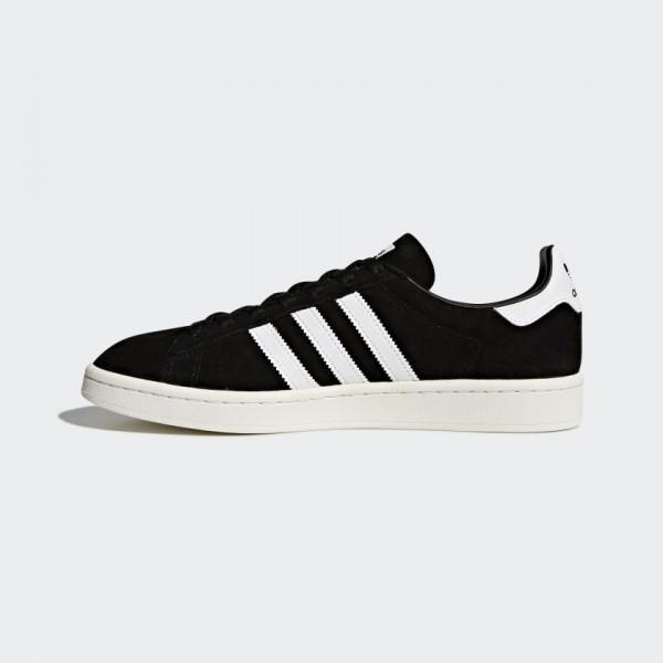 Adidas Men Originals Campus Core Black/White BZ008...