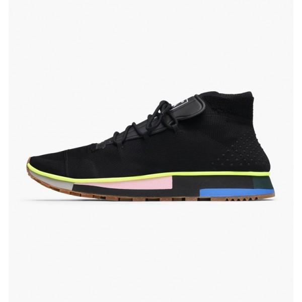Adidas Men Originals Alexander Wang Run Mid Black ...