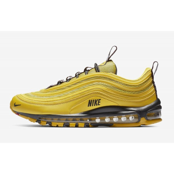 AV8368-700 Nike Air Max 97 Premium Bright Citron B...