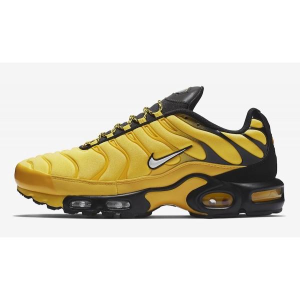 AV7940-700 Nike Air Max Plus Tour Yellow Black Men Shoes