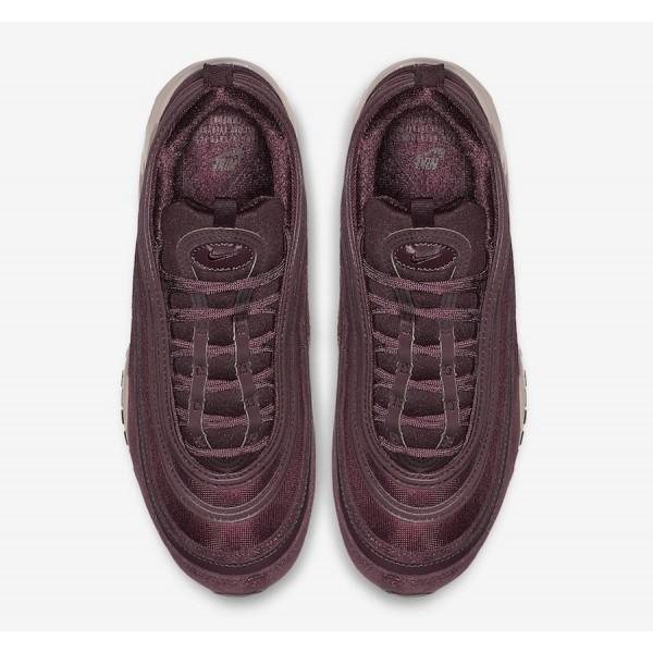 AV8198-600 Nike Air Max 97 Burgundy Crush Women Shoes