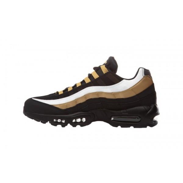 AT2865-002 Nike Air Max 95 Black Metallic Gold Men...