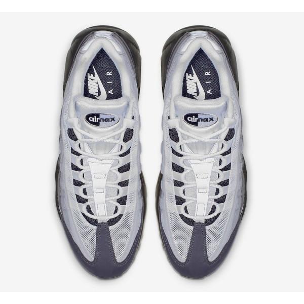 AT2865-003 Nike Air Max 95 Black Granite White Men Shoes