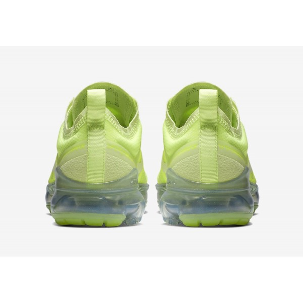 AR6632-700 Nike Air VaporMax 2019 Volt Glow Spruce Aura Men Shoes