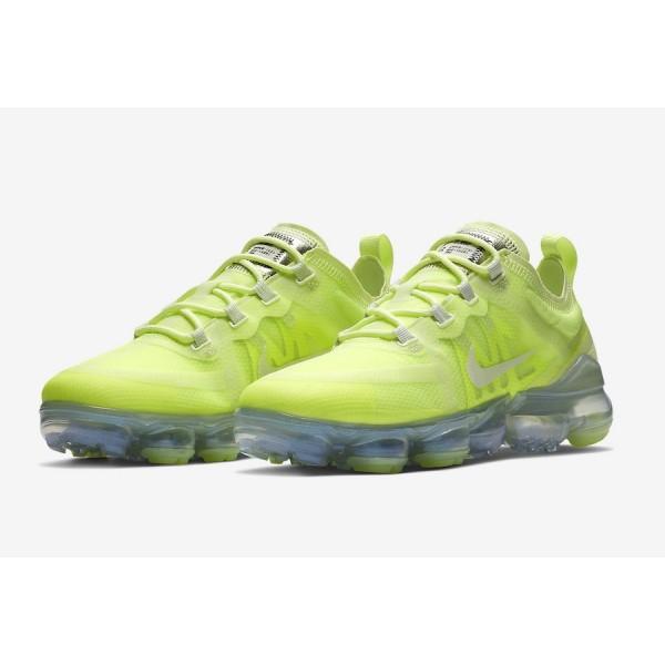 AR6632-700 Nike Air VaporMax 2019 Volt Glow Spruce Aura Men Shoes