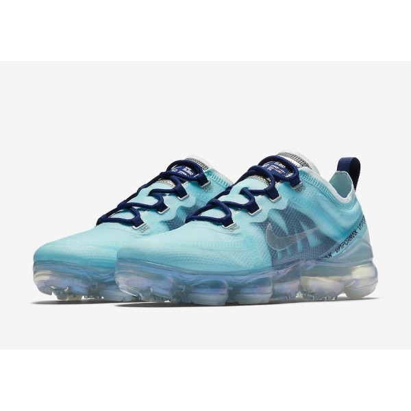 AR6632-300 Nike Air VaporMax 2019 Teal Tint Blue Void Women Shoes