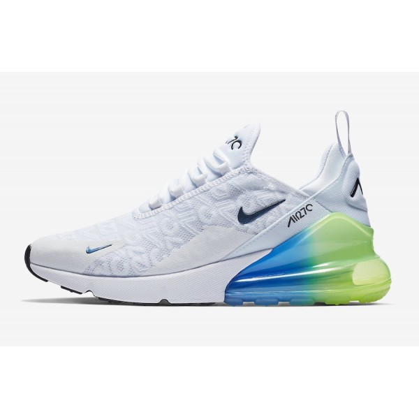 AQ9164-100 Nike Air Max 270 White Explosion Green ...