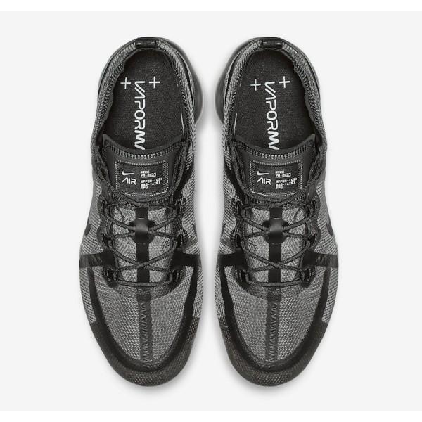 AR6631-004 Nike Air VaporMax 2019 Black Grey Men Shoes
