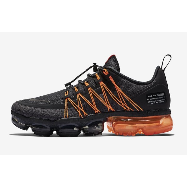 AQ8810-005 Nike Air VaporMax Utility Black Orange Men Shoes