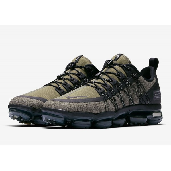 AQ8810-201 Nike Air VaporMax Run Utility Medium Olive Men Shoes
