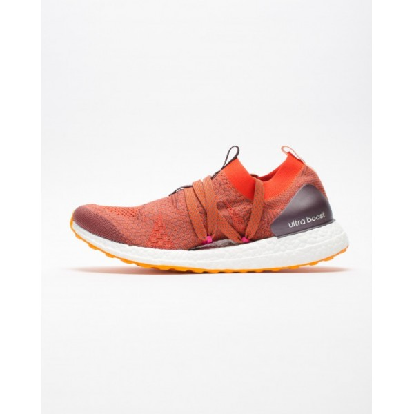 Adidas Women Ultraboost X Red Orange Shoes CG3686