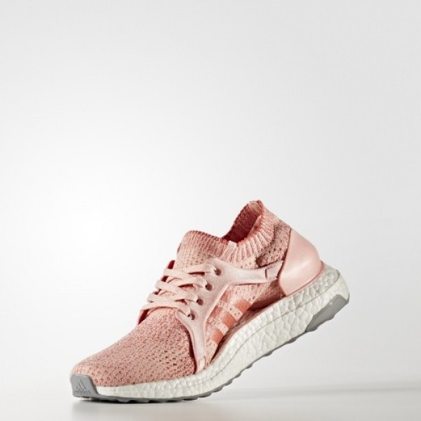 Adidas Women Ultraboost X Pink Trace Pink Tactile Red Shoes BB3436