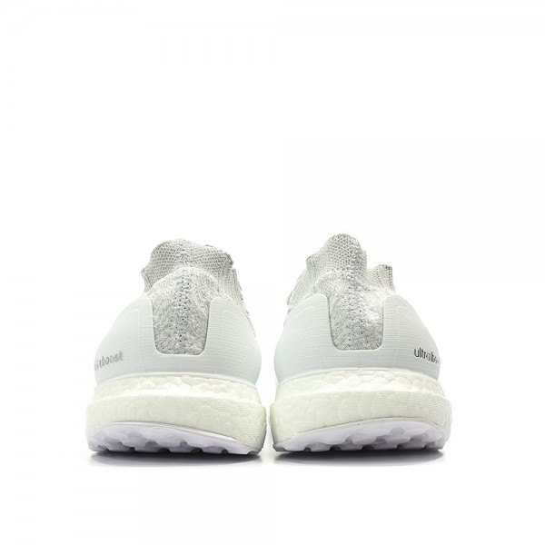 Adidas Women Ultraboost Uncaged White Grey Running Shoes S80780