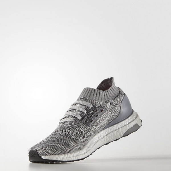 Adidas Women Ultraboost Uncaged Grey White Running Shoes BB3902