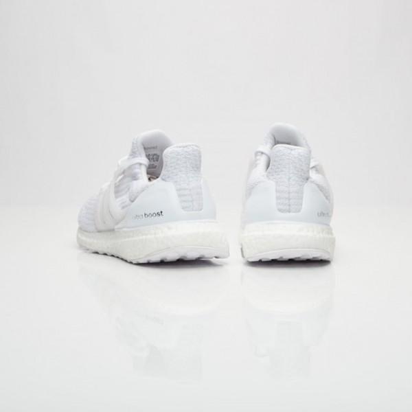 Adidas Women Ultra Boost White Running Shoes BA7686