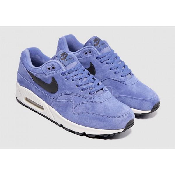 AJ7695-500 Nike Air Max 90/1 Purple Basalt White Men Shoes