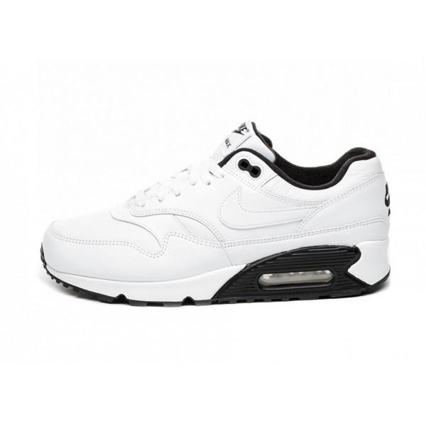 AJ7695-106 Nike Air Max 90/1 White Black Men Shoes