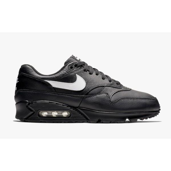AJ7695-001 Nike Air Max 90/1 Black White Men Shoes