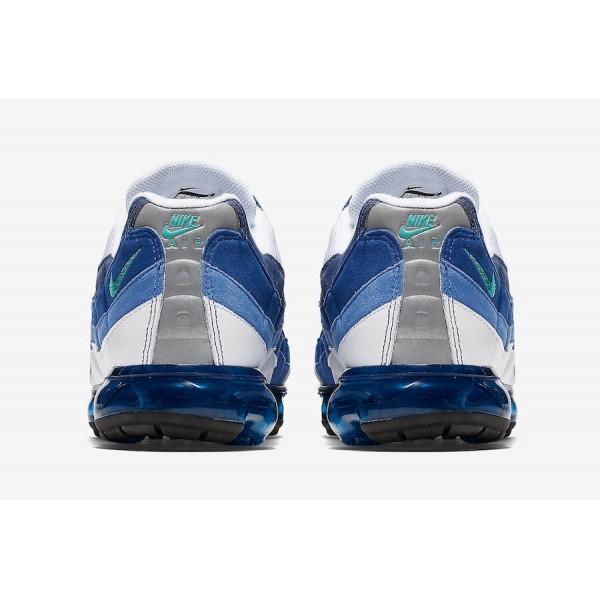 AJ7292-100 Nike Air VaporMax 95 White French Blue Men Shoes