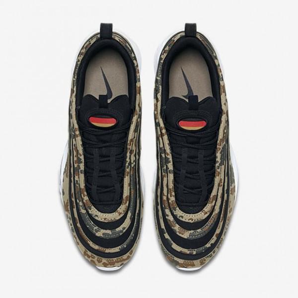 AJ2614-204 Nike Air Max 97 Premium Country Camo Germany Camo/Black