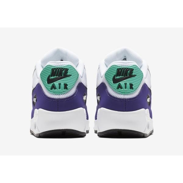 AJ1285-103 Nike Air Max 90 Essential White Court Purple Men Shoes