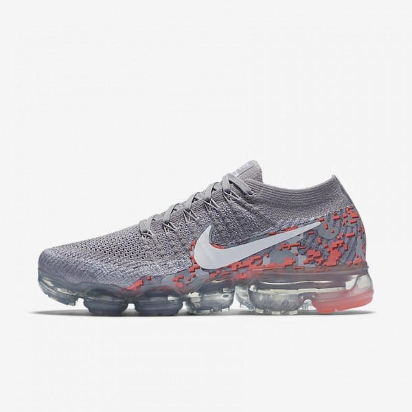 AH8448-001 Nike Air Vapormax Flyknit Camo Grey/Hot...