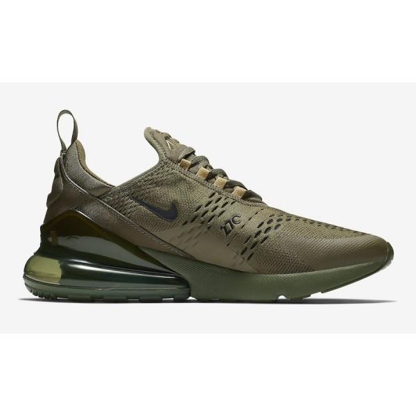 AH8050-301 Nike Air Max 270 Triple Olive Men Shoes