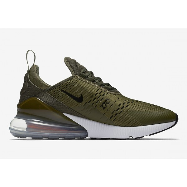 AH8050-201 Nike Air Max 270 Medium Olive/Black/Total Orange