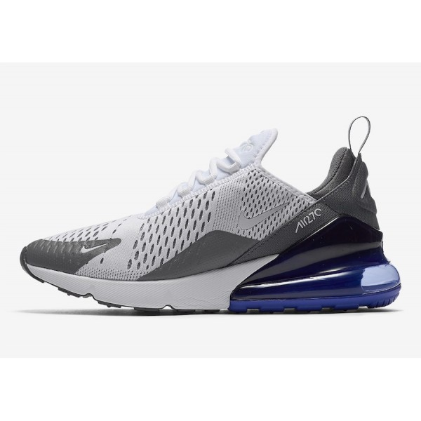 AH8050-107 Nike Air Max 270 White Persian Violet Men Shoes