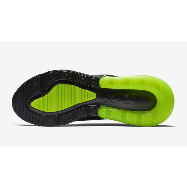 AH8050-017 Nike Air Max 270 Black Volt Grey Men Shoes