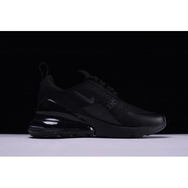 AH8050-005 Nike Air Max 270 Triple Black Running Shoes