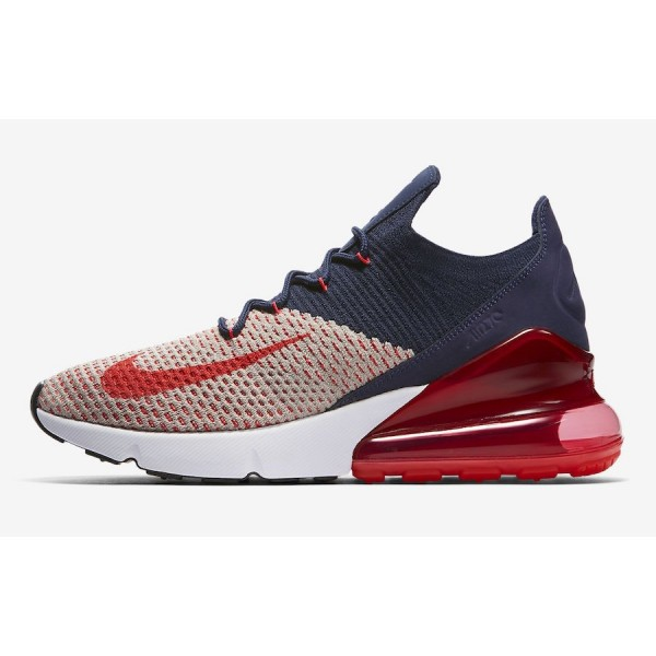 AH6803-200 Nike Air Max 270 Flyknit College Navy R...