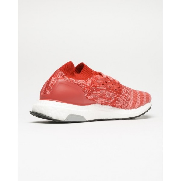 Adidas Women Ultra Boost Uncaged Red Running Shoes BB3903