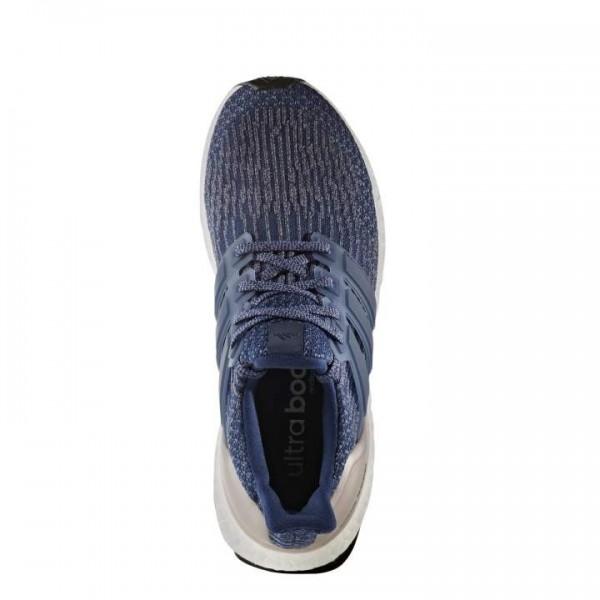 Adidas Women Ultra Boost 3.0 Blue Grey Metallic Shoes BA8928
