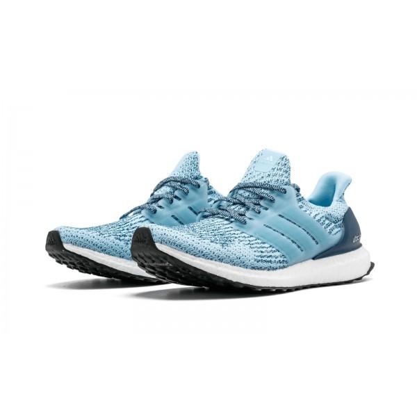 Adidas Women Ultra Boost 3.0 Icey Blue Dark Blue Shoes S82055