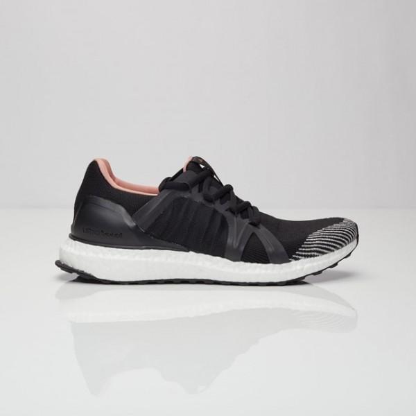 Adidas Women Stella McCartney Ultra Boost Black Running Shoes BA8475