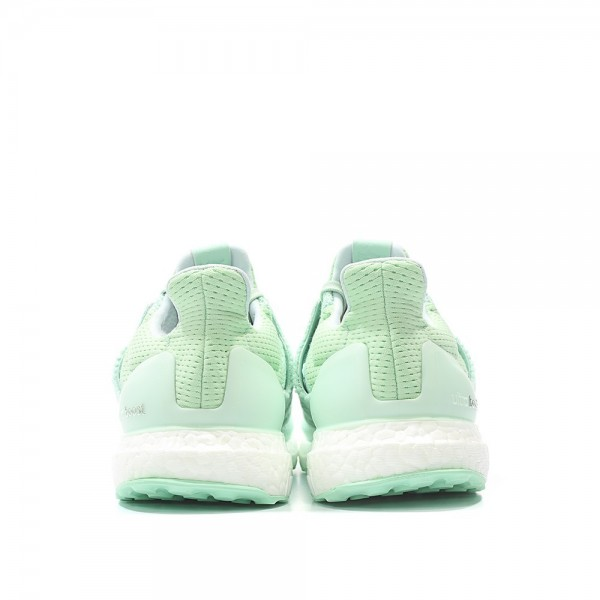 "Adidas Men X NAKED Ultra Boost ""Wave Pack"" Light Aqua Shoes BB1141"