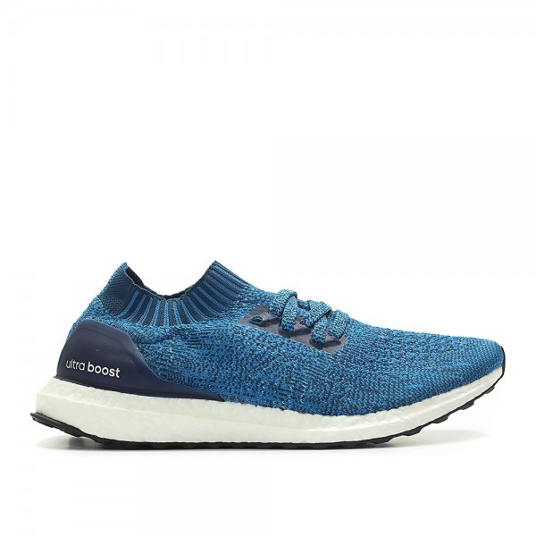 Adidas Men Ultraboost Uncaged Blue White Shoes BY2...