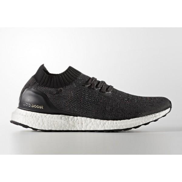 Adidas Men Ultraboost Uncaged Black White Running ...