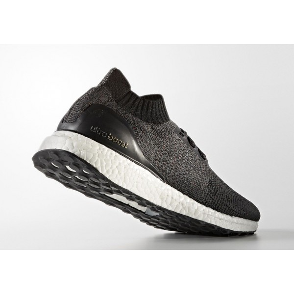 Adidas Men Ultraboost Uncaged Black White Running Shoes BB4486