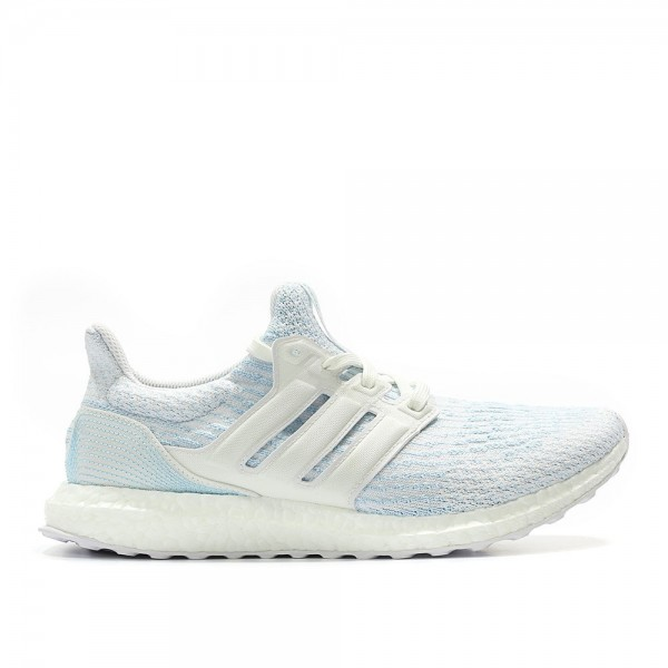 Adidas Men Ultraboost 3.0 Parley White Blue Shoes ...
