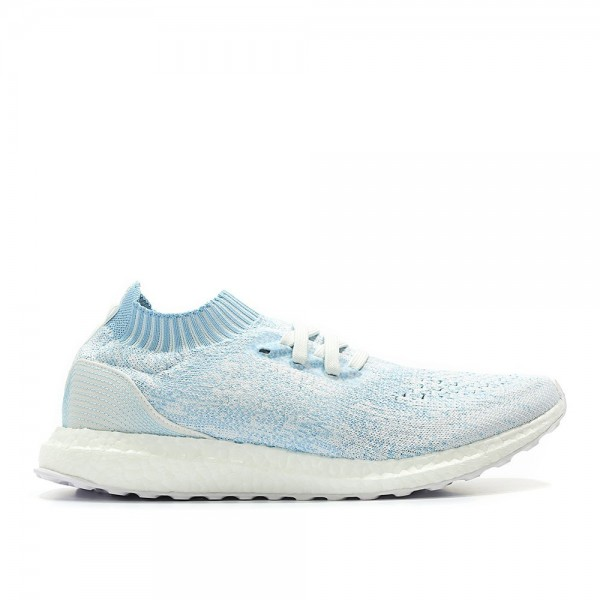 Adidas Men Ultra Boost Uncaged Parley Icey Blue Wh...